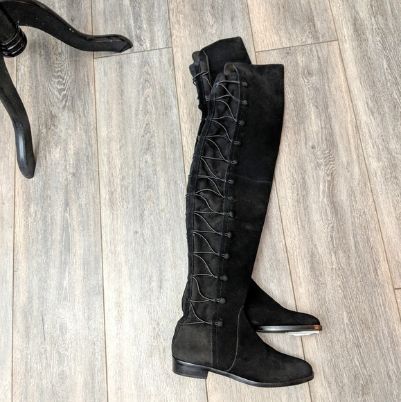 eddd3fb723d Vince Camuto Black Coatia over-the-knee Boots